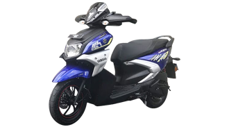 Yamaha Ray ZR Rooster Red colour option   IAMABIKER